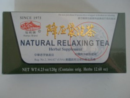 Natural Relaxing Tea For High Blood Pressure