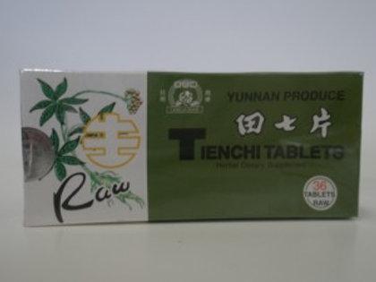 Yunnan Produce Raw Tienchi Tablets