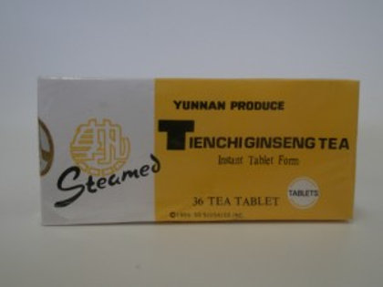 Tienchi Ginseng Tea Instant Tablet Form (Steamed)
