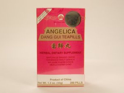 Angelica Dang Gui Tea Pills