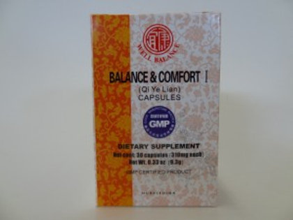 Balance & Comfort 1 Qi Ye Lian Capsules