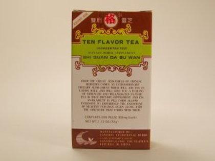 Shi Quan Da Bu Wan: Ten Flavor Tea (Concentrated)