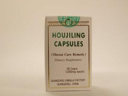 Houjing Capsules Throat Care Remedy Jiaonang