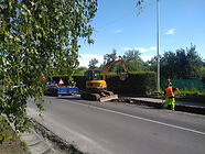 Průběh oprav na ulici Lískovecká a Nad Lipinou
