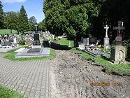Rekonstrukce chodníků na veřejném pohřebišti ve Skalici – II. etapa