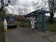 Úprava harmonogramu plošných dezinfekčních postřiků vybraného městského mobiliáře