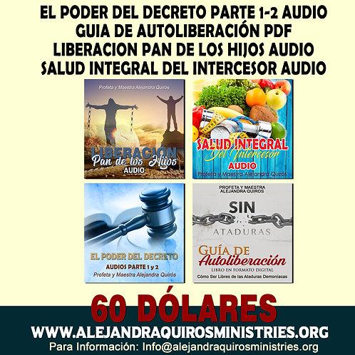 GUIA Y AUDIOS PARA LIBERACIÓN Y GUERRA ESPIRITUAL