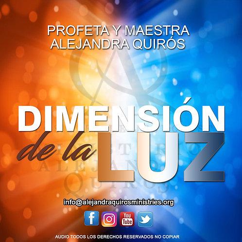 DIMENSIÓN DE LA LUZ