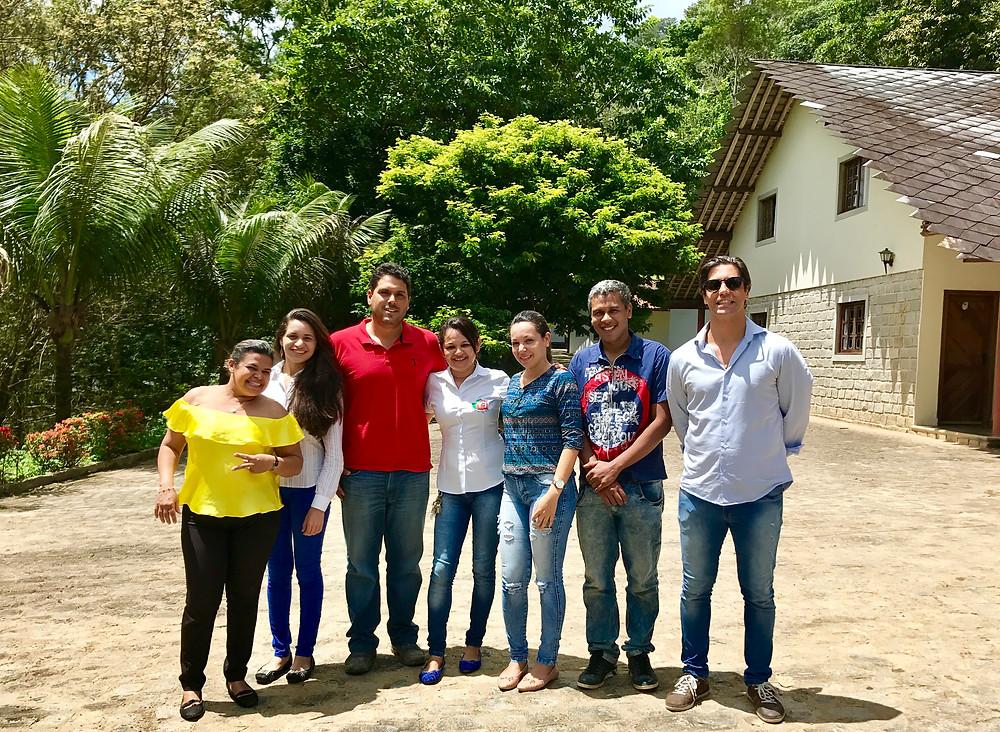 Equipe QPH após uma semana de treinamento.
