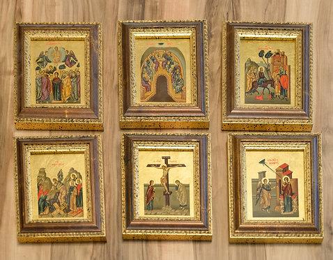 Ikonen - 6 Bibelmotive