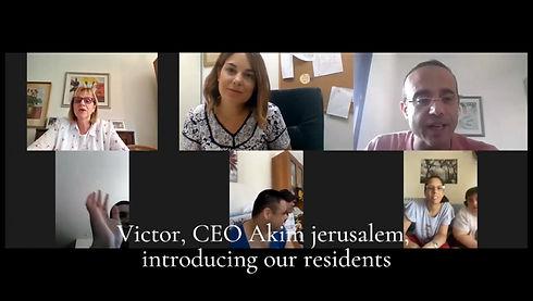 Grüße zum Jüdischen Neujahrstag 5781von Akim Jerusalem