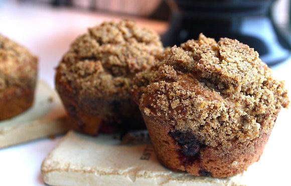 Raspberry Muffins (4 pcs)