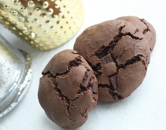 Double Chocolate Cookies (6 pcs)