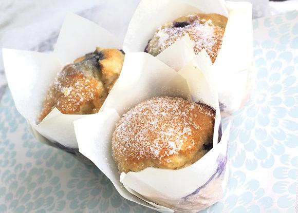 Lemon Blueberry Muffins (4 pcs)