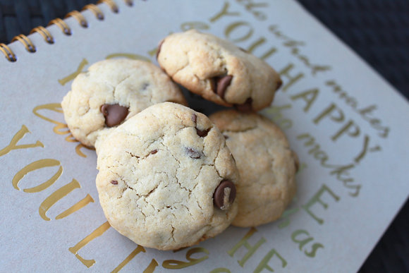 Melt In Your Mouth Chocolate Chip Cookies (6 pcs)