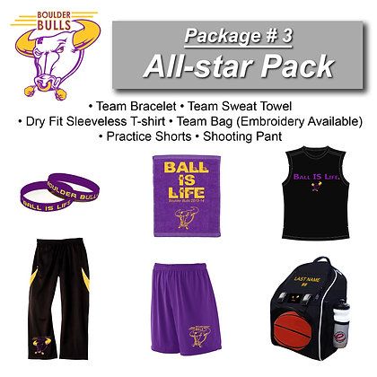 Package #3: All-Star Pack