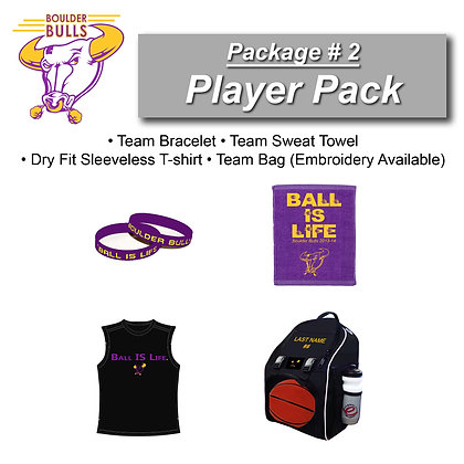 Package #2:  Player Pack