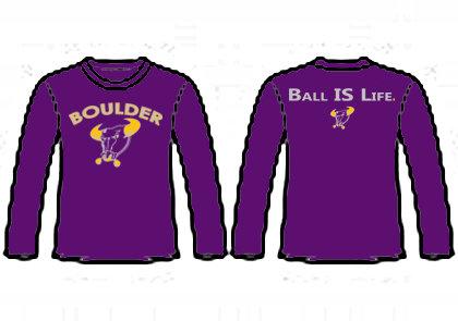 Long Sleeve T-Shirt (purple)