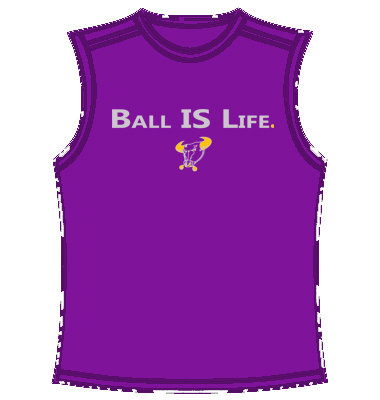 Dry Fit Sleeveless Shirt (purple)