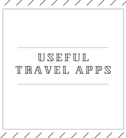 useful apps for travelling