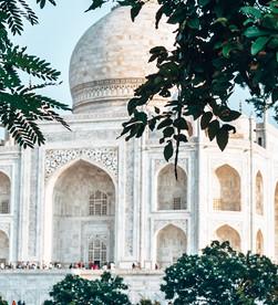 I finally got to see the Taj Mahal