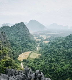 vang vieng's iconic viewpoint but better