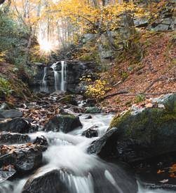 Allensford Waterfalls - River Derwent