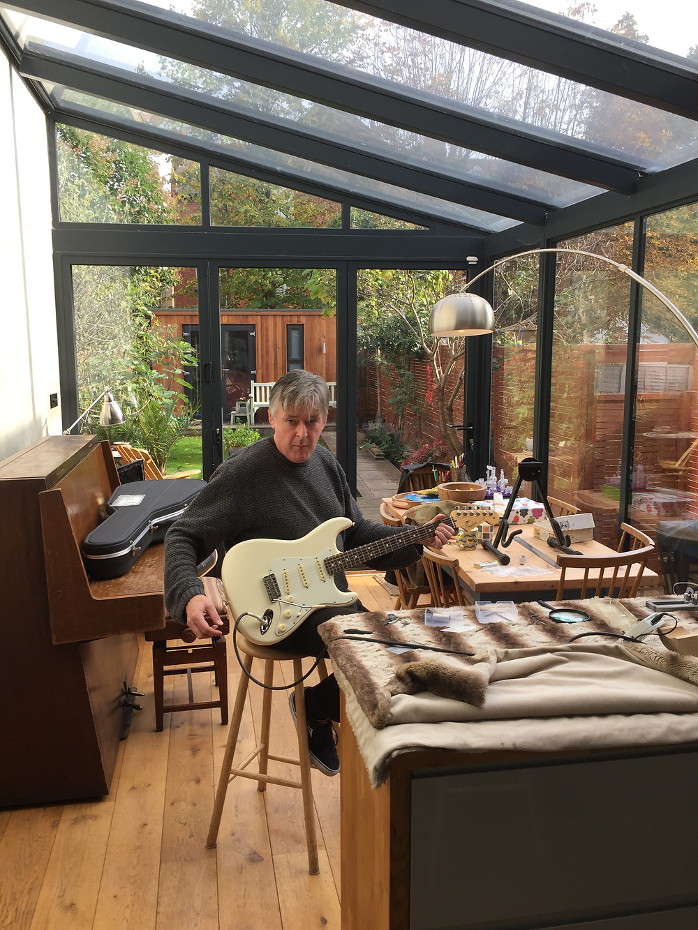 My brother, Matt, looks after all things guitar...