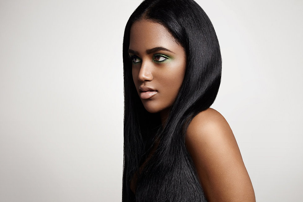 straight human hair lace wig for black people