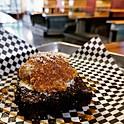Fried Ice Cream Brownie A-La-Mode