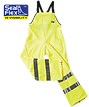 Hi Vis yellow overalls wet weather gear pants