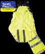 Hi Vis yellow overalls wet weather gear pants