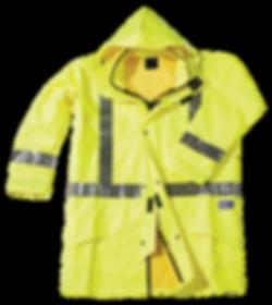 Seal Flex Hi Vis Yellow Rain Jacket.png