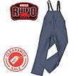 Red Rhino Bib & Brace with logo clearanc