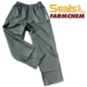 Chemical Safe Rain Pants