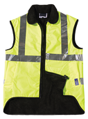 Seal Flex Hi Vis Yellow Fleece Vest.png