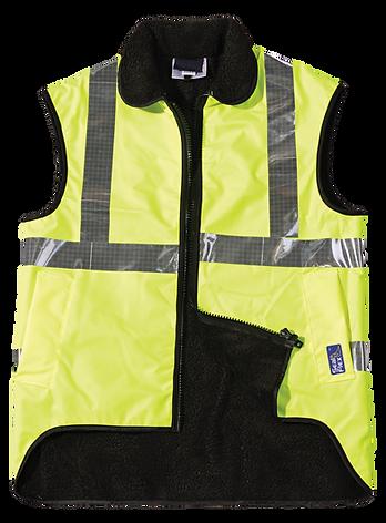 Seal Flex Hi Vis Yellow Fleece Vest.png