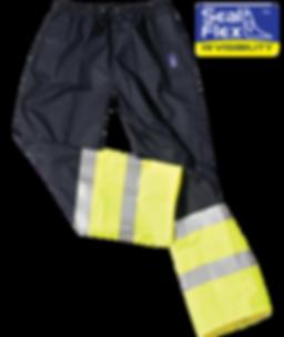 Seal Flex Hi Vis Safety Rain Pants
