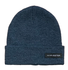 Harvester Beanie Navy Blue Wool.png