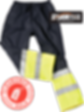 Storm Flex Two Tone Safety Gear Overtrou