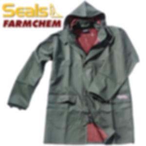 Chemical resistant Rain jacket
