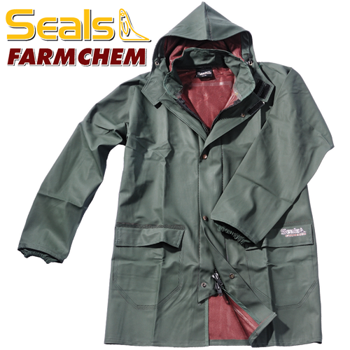 Chemical resistant Rain jacket