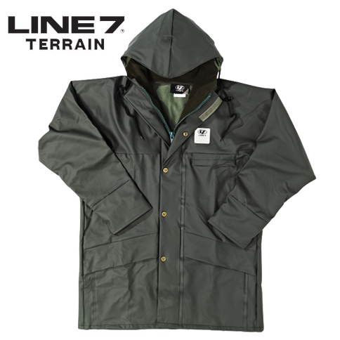 Line 7 Aqua Dairy Jacket wet weather gea