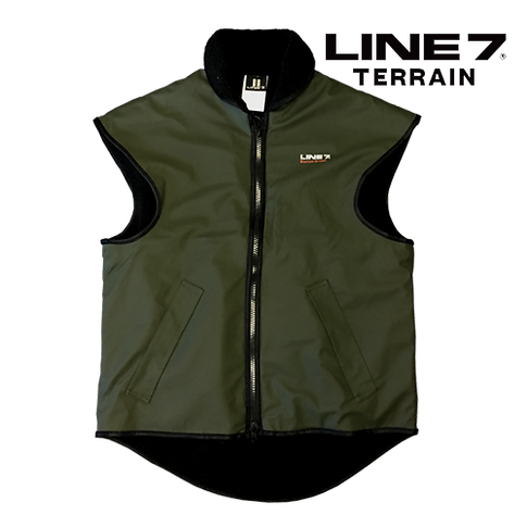 Line 7 Station Green Warm Waterproof Vest