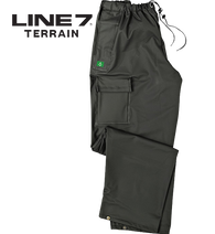 Line 7 Aqua Dairy Over Trousers with log