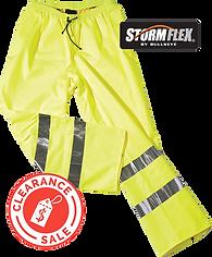 Storm Flex Pants Overtrousers Hi-Vis 600