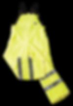 Seal Flex Hi Vis Yellow Bib brace Overal