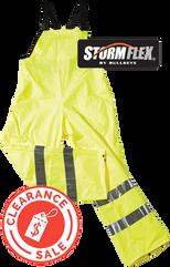 Storm Flex Pants Bib Hi Vis 600 clearanc