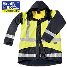 Seal Flex Two Tone Safety Gear Parka log
