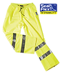 Hi Vis Breathable rain pants yellow